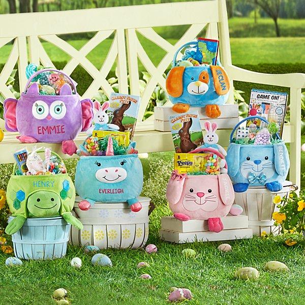 Furry Friends Easter Basket