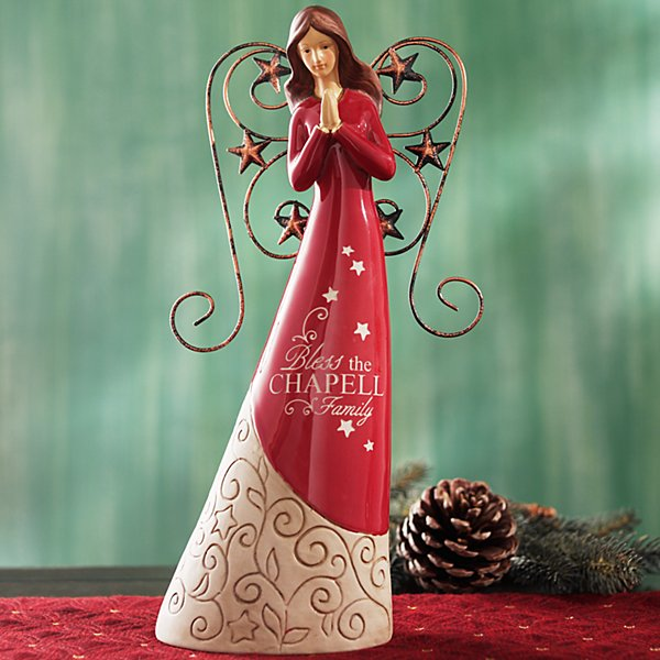 Red Angel Figurine