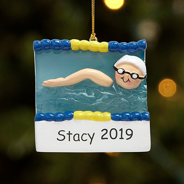 Swimmer Ornament