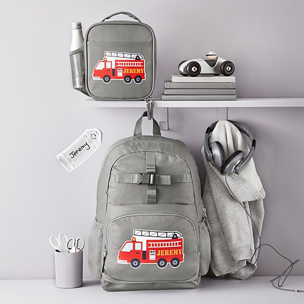 Fun Graphic Charcoal Backpack Collection