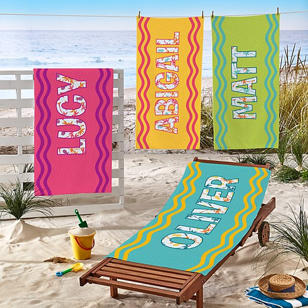 Big Name Beach Towel