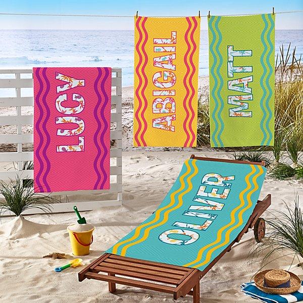 Big Name Beach Towel