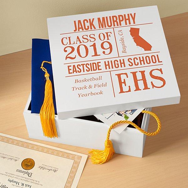 All About the Graduate Keepsake Box