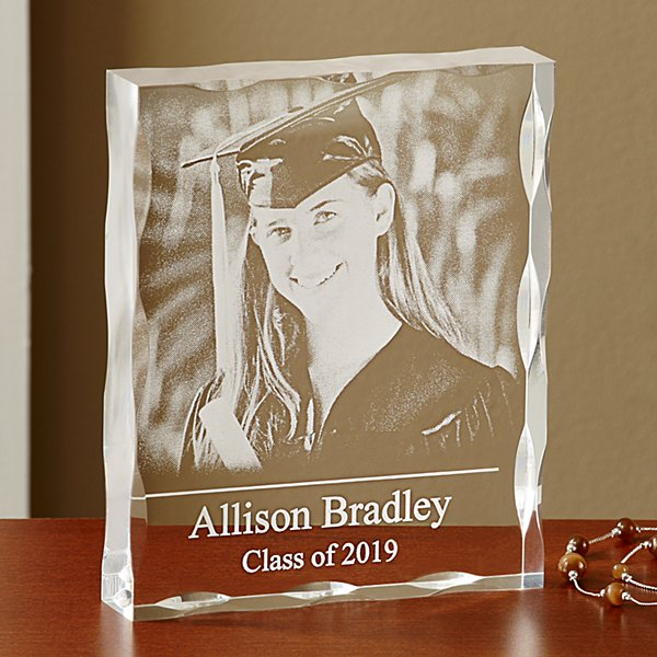 Graduation Photo Keepsake Block