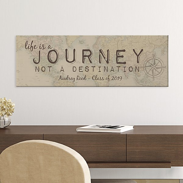 Life is a Journey Canvas Art