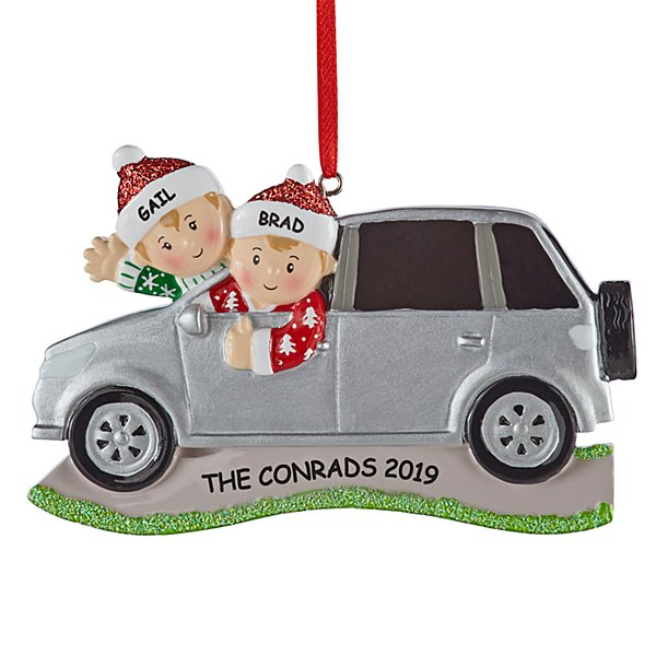 SUV Family Ornament - 2
