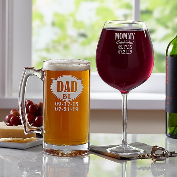 We're Established Glassware Set