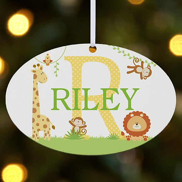 My Own Name Oval Ornament