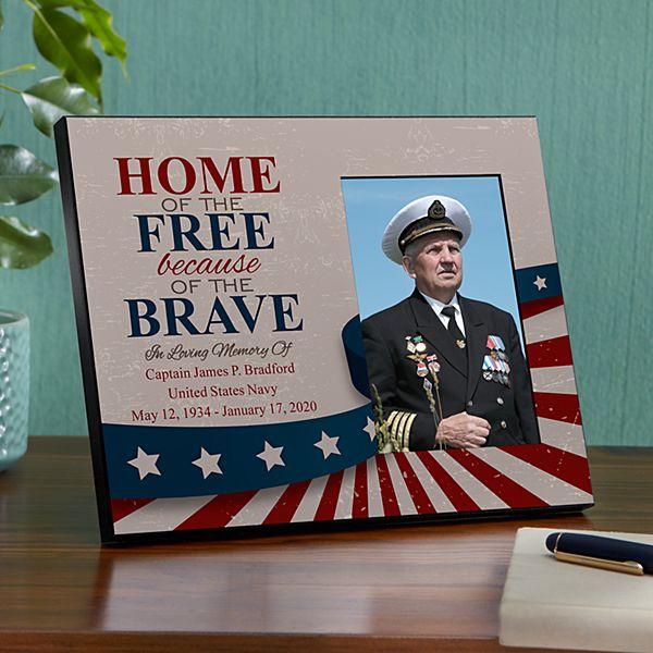 American Hero Memorial Frame
