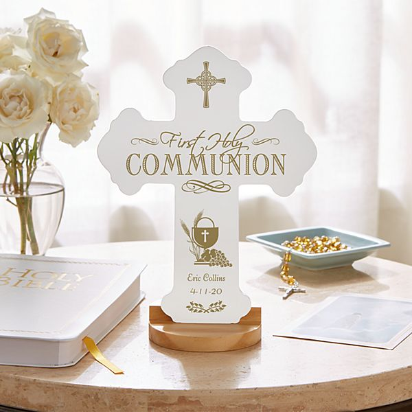 First Communion Keepsake Cross