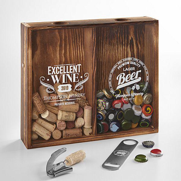 Beer & Wine Shadow Box