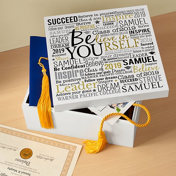 Believe in Yourself Keepsake Box