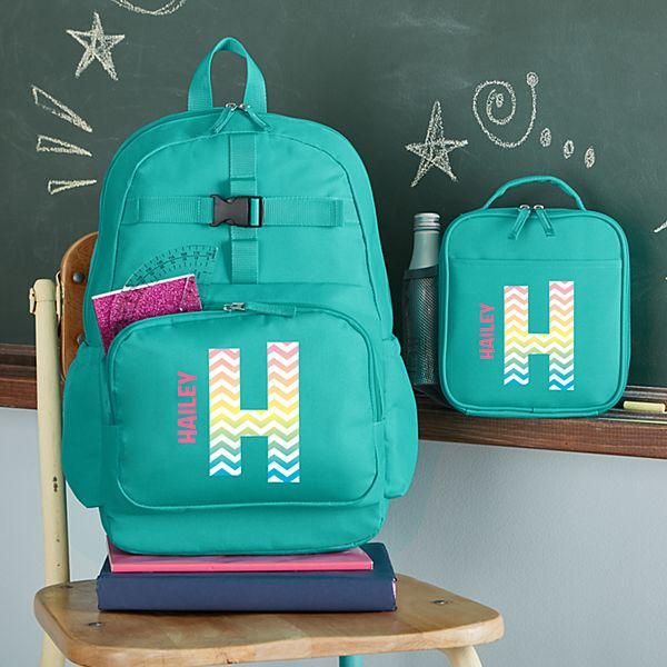 Pretty Pattern Aqua Backpack Collection