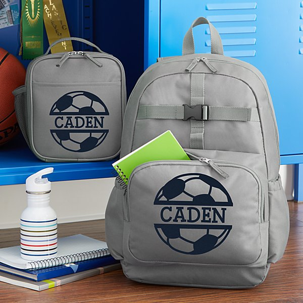 Sporty Fun Charcoal Backpack Collection