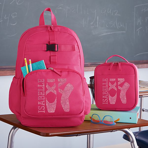Sporty Sparkle Pink Backpack Collection