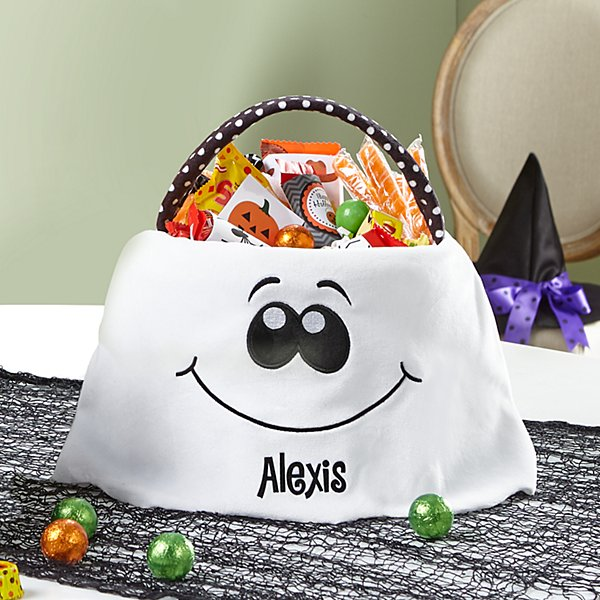 Spooky Treats Halloween Plush Treat Bag