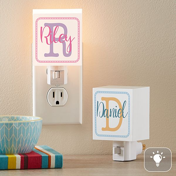 Collage Name Nightlight