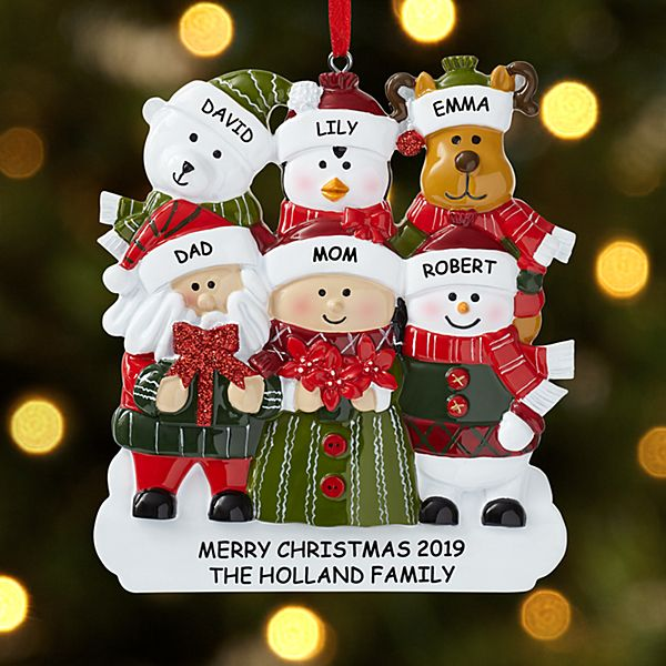 Winter Wonderland™ Family Ornament