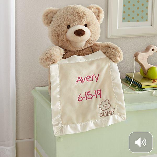 GUND® Animated Peek-A-Boo Bear
