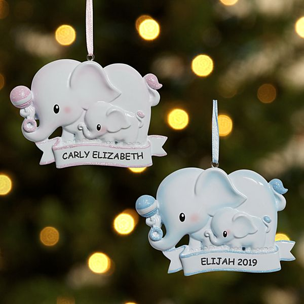 Tons of Love Baby Ornament