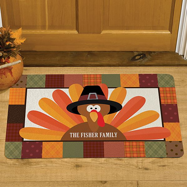 Turkey Time Doormat
