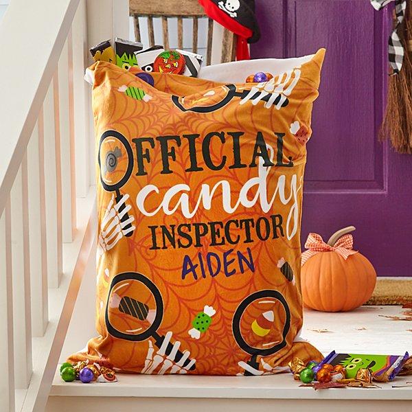 Wicked Spooky Plush Pillowcase Treat Bag