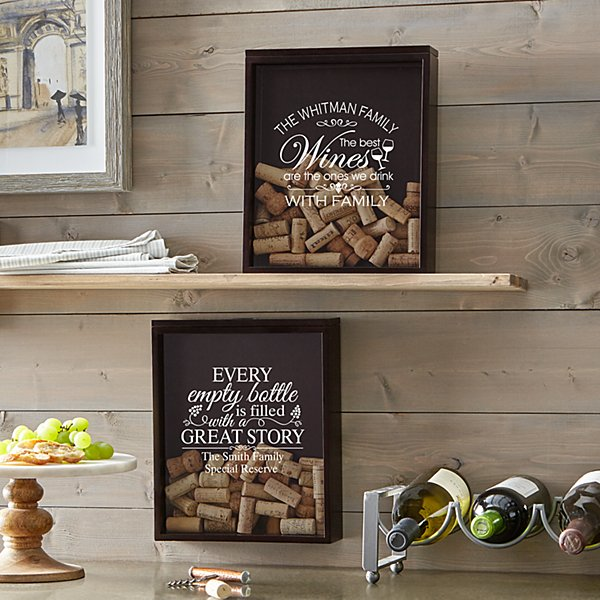 Wine Lovers Cork Display Box