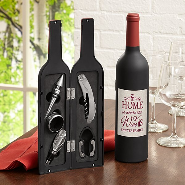 Home Is Where The Wine Is 5 Piece Tool Set