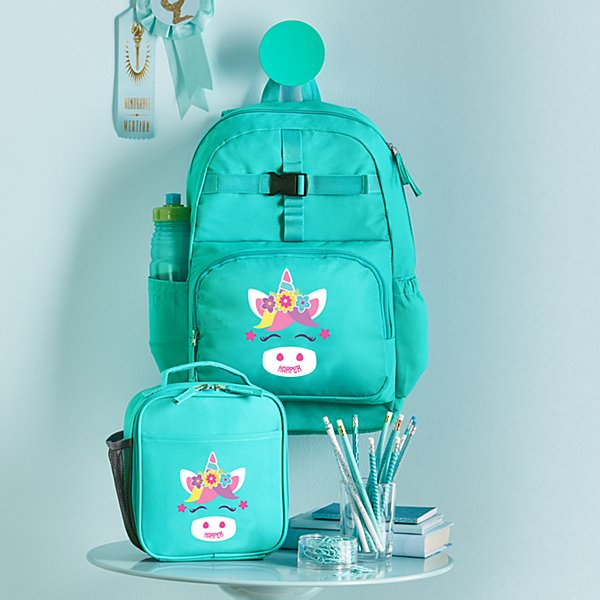 Big Face Aqua Backpack Collection