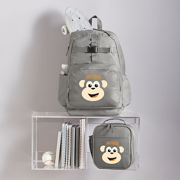 Big Face Charcoal Backpack Collection
