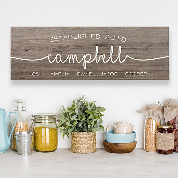 Farmhouse Family Canvas