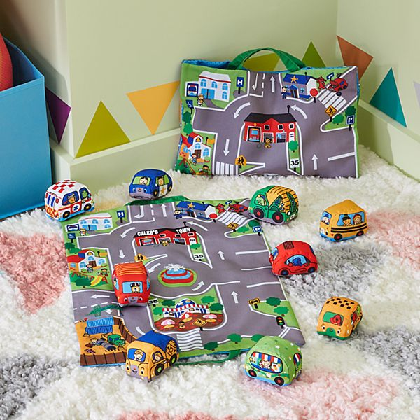 Melissa & Doug® Take-Along Town Playmat