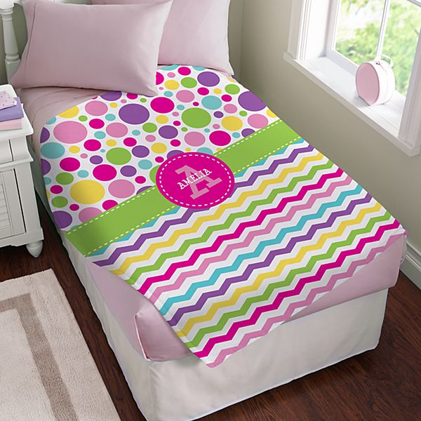 Pattern Party Plush Blanket