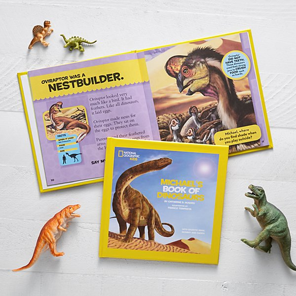 National Geographic® Book of Dinosaurs