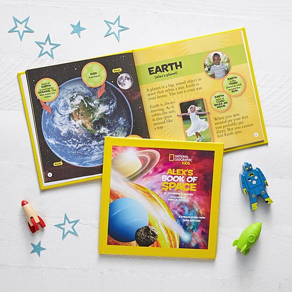National Geographic® Book Of Space