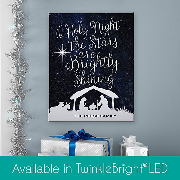 O' Holy Night Canvas