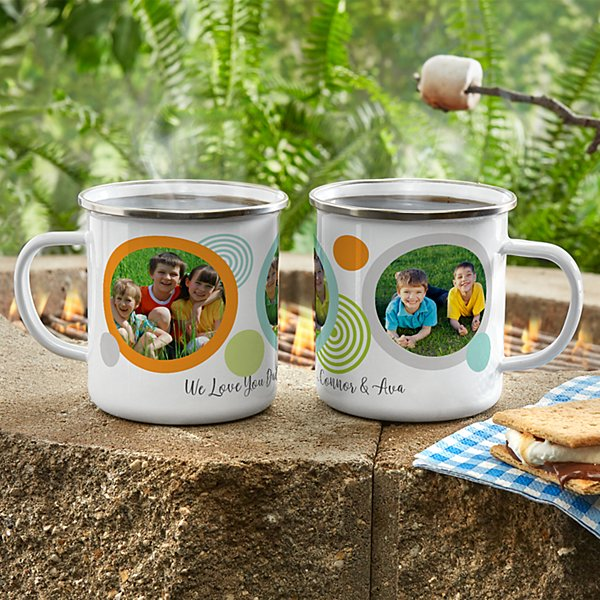 Photo Message Metal Enamel Mug