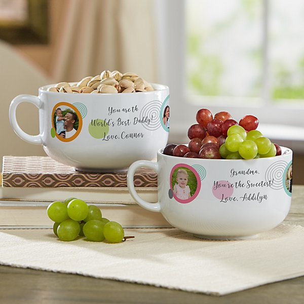 Photo Message Snack Bowl