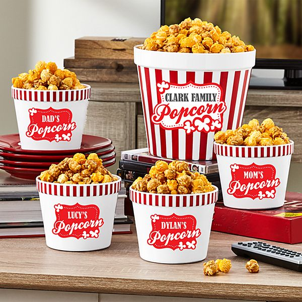 Snack Attack Popcorn Bucket