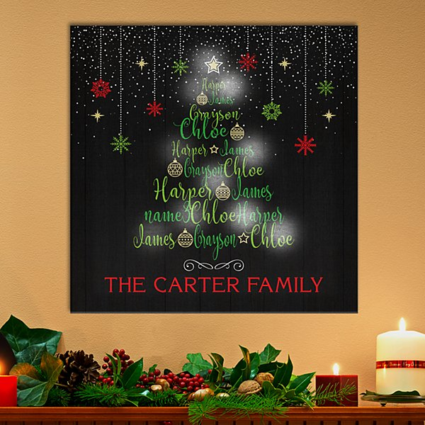 TwinkleBright® LED Holidays Connect Us  Canvas