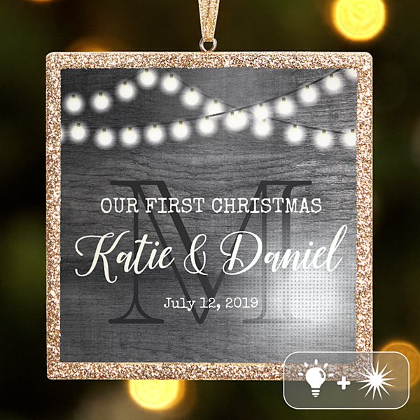 TwinkleBright® LED Rustic Wedding Ornament