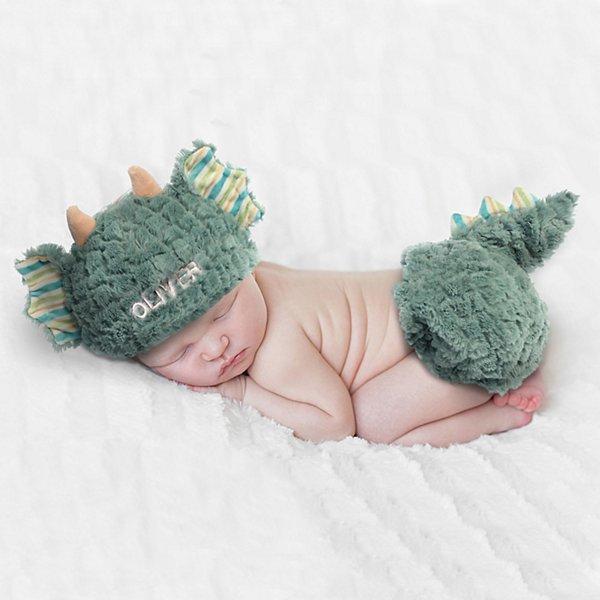 Baby Dragon Diaper Cover Set