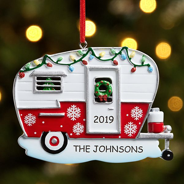 Holiday Camper Ornament