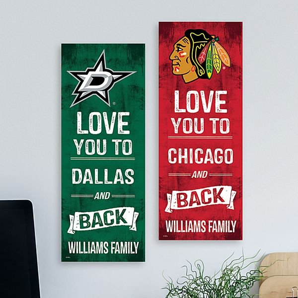 NHL Sports Love Wall Plaque