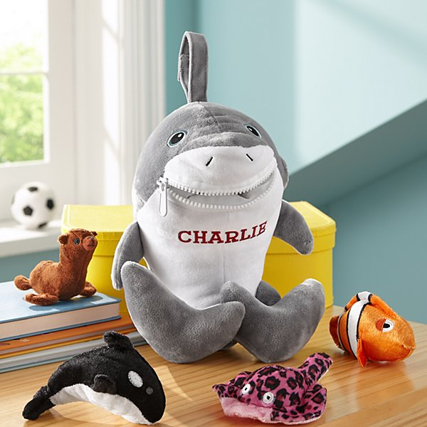 Sharkie Plush Playset