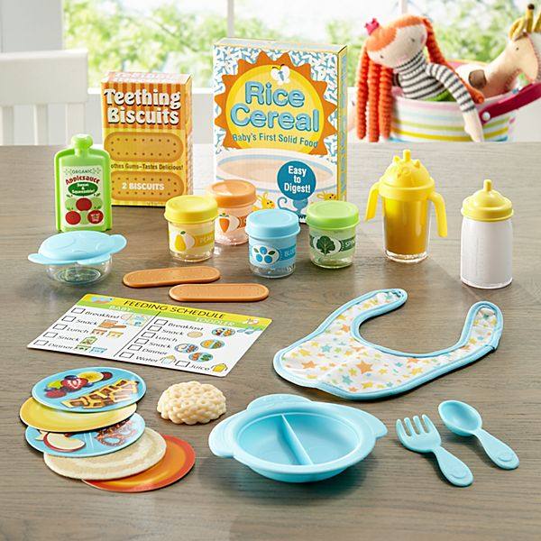Melissa & Doug® Mine To Love Mealtime Playset