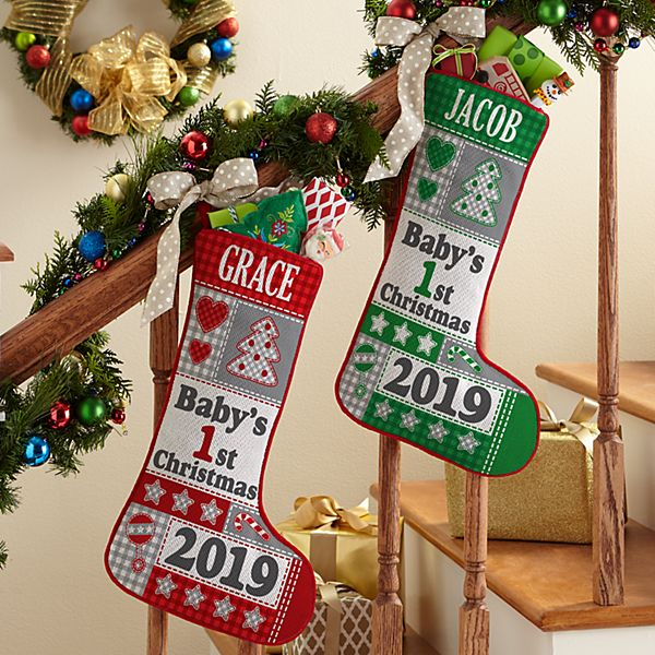 Baby's 1st Christmas Stocking