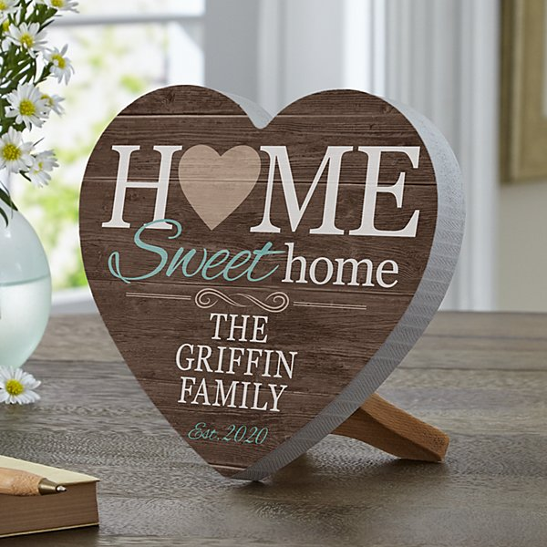 You Are Home Mini Wood Heart