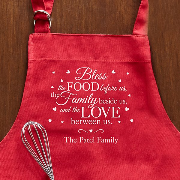 Bless This Food Apron