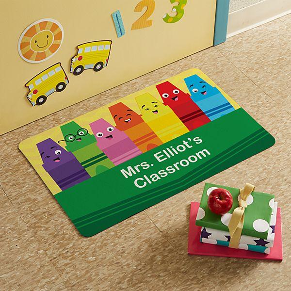 Colorful Crayons Doormat